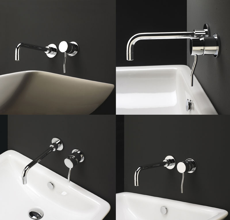 Miscelatore lavabo incasso kusasi - Stufe elettriche a parete per bagno ...