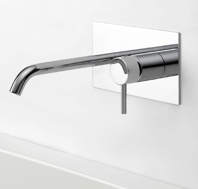 Miscelatore lavabo incasso milano torino - Miscelatore a parete bagno ...