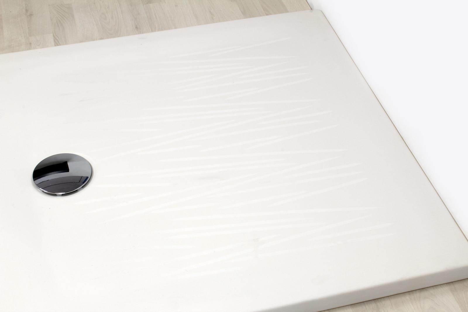 Piatto doccia angolare 90x90 bianco opaco