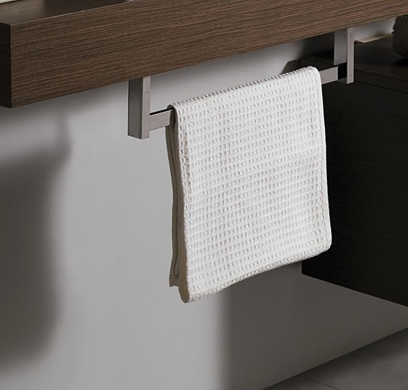 Porta asciugamano cromo - Mobili porta asciugamani bagno ...
