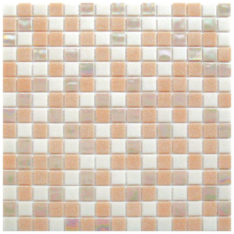 Mosaico glass classic mix rosy plus - Fanno i bagni coloranti ...
