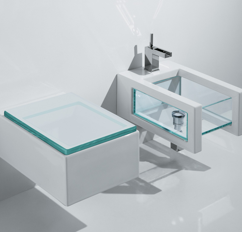 Sanitari bagno in vetro glass - Sanitari per bagno prezzi ...