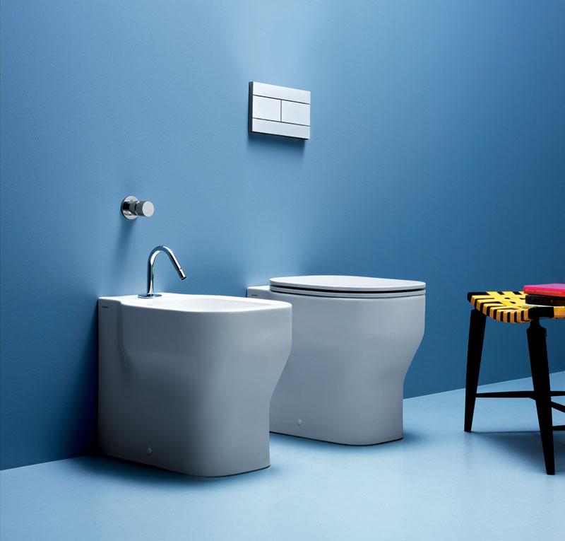 Sanitari bagno moderni squadrati - Flaminia sanitari bagno ...