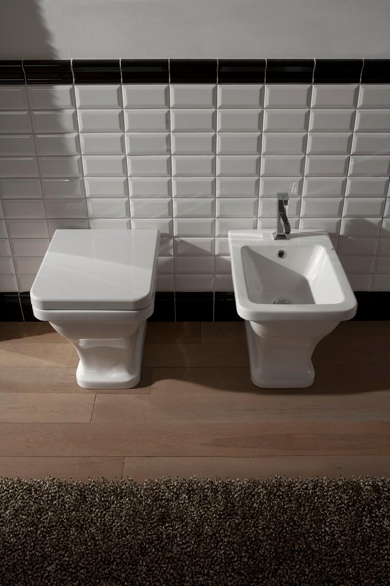 Sanitari bagni in stile antico butterfly bianchi - Bagni stile antico ...