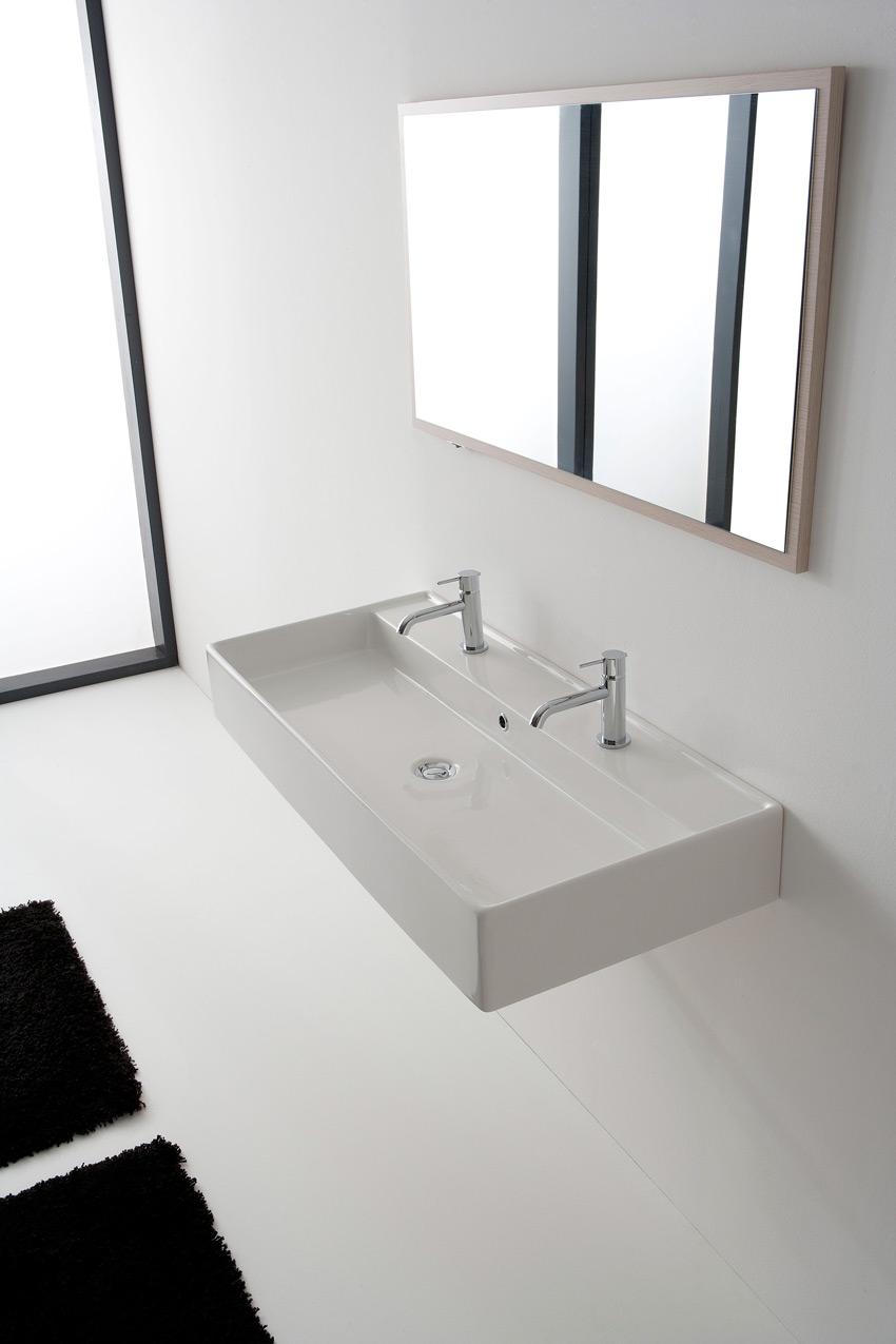 lavabo 120 x 46 cm teorema 120r b. Black Bedroom Furniture Sets. Home Design Ideas