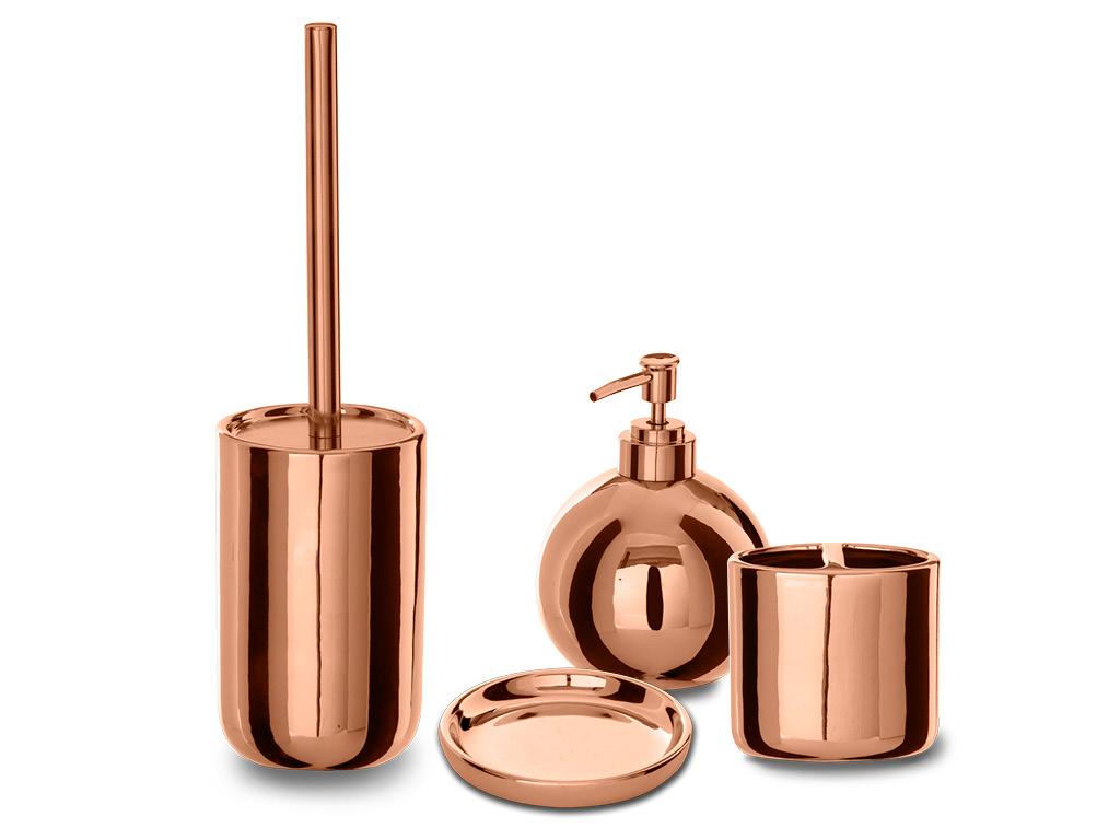 Set accessori da bagno alchimista rame