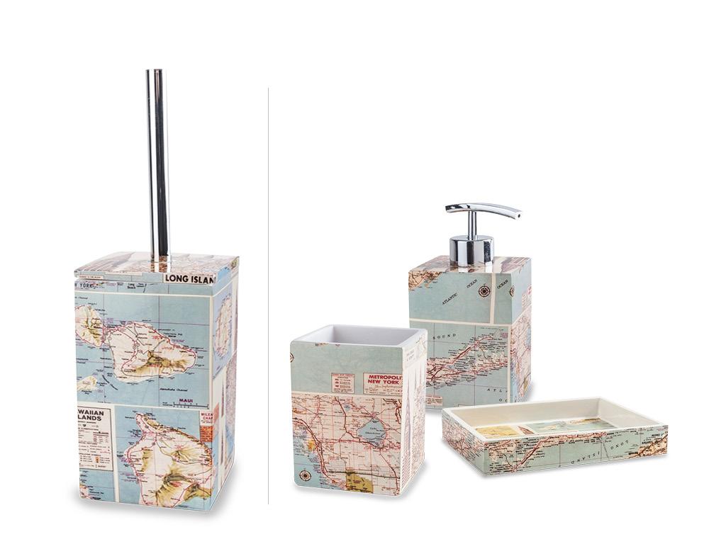 Set completo da bagno map