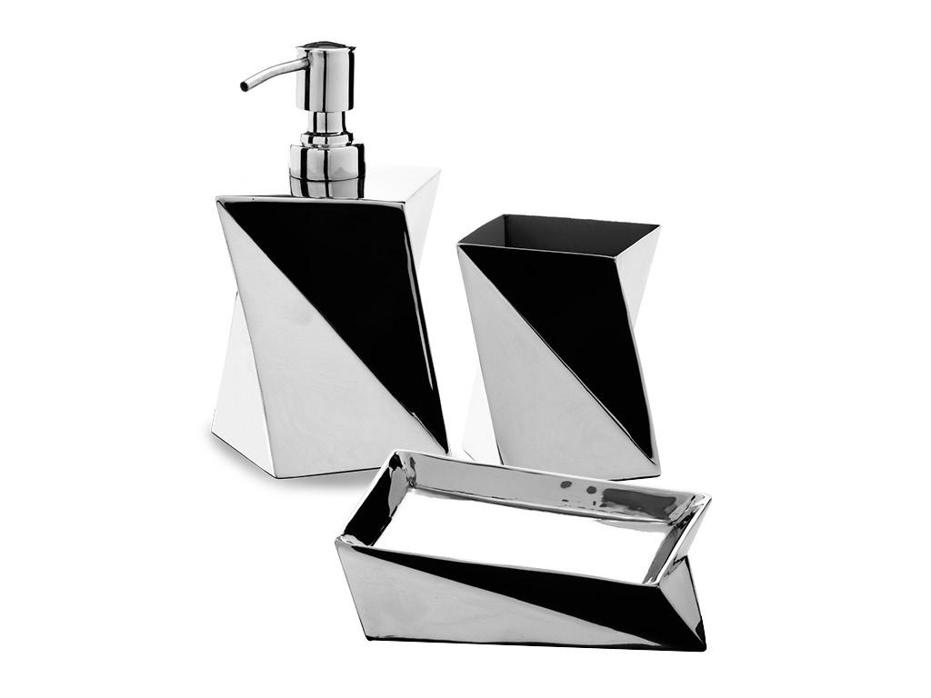 Set accessori shape - Accessori bagno inox ...
