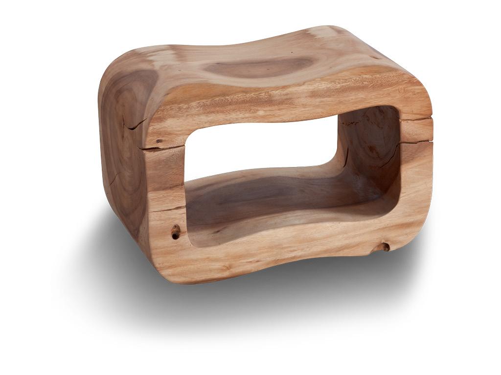 Sgabello bagno in legno otto h cm