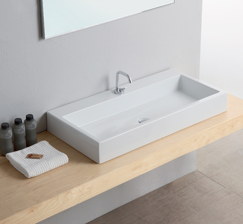 lavabo bacino 100 x 50 cm. Black Bedroom Furniture Sets. Home Design Ideas