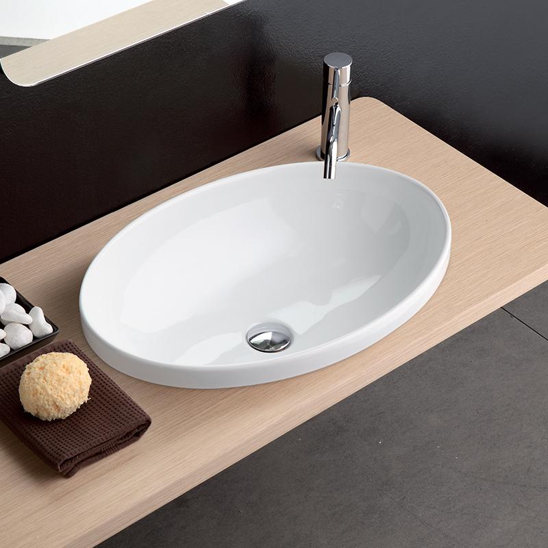 Lavabo incasso 4 softly 60 cm - Lavandino da incasso bagno ...