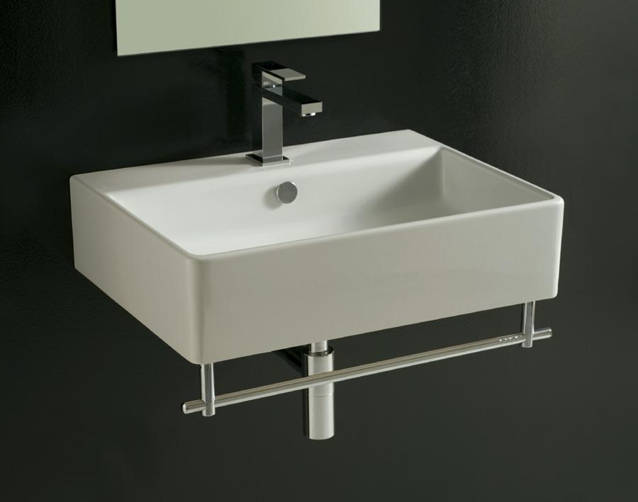 Lavabo sospeso dome 60 cm - Lavandino bagno moderno ...