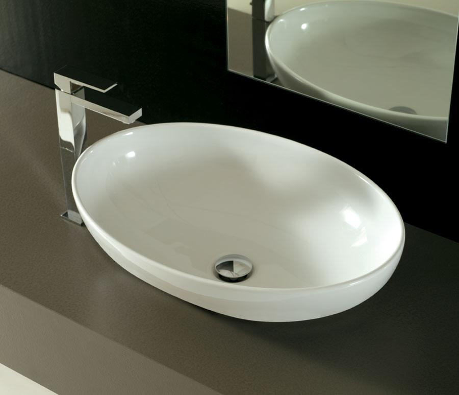 Lavabo incasso softly 60 cm - Lavandino bagno da incasso ...
