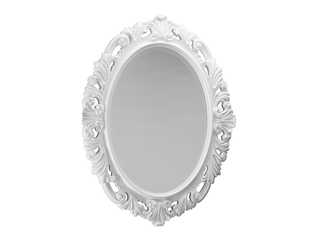 Specchio ovale kent 77x97 cm - Specchio ovale bagno ...