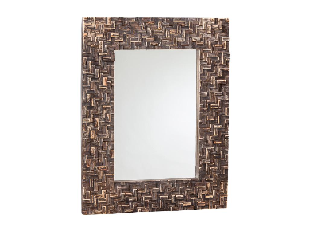 Specchio bagno cross brown 70x90 cm - Specchio bagno 70x90 ...