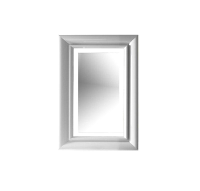 Specchio 60 retroilluminato bianco ethos - Specchio bianco ...