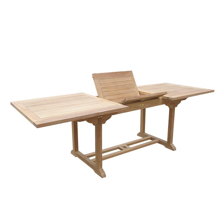 Tavolo rettangolare allungabile titan - Tavolo rettangolare allungabile ...