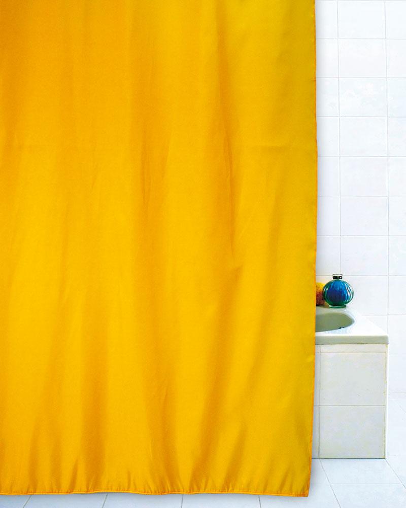 Tenda doccia giallo 180x200 - Tende per doccia ...