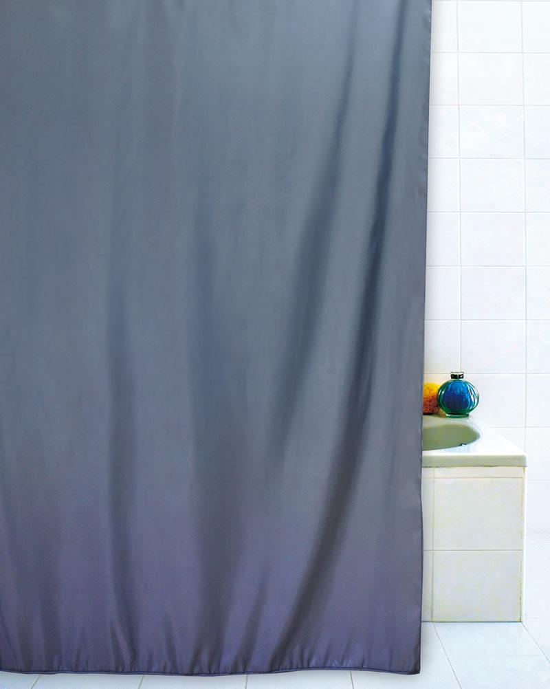 Tenda doccia grigio zincato 180x200