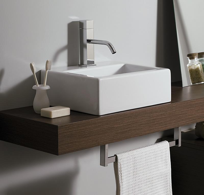 Piano per lavabo top h10 cm slim for Top per lavabo da appoggio ikea