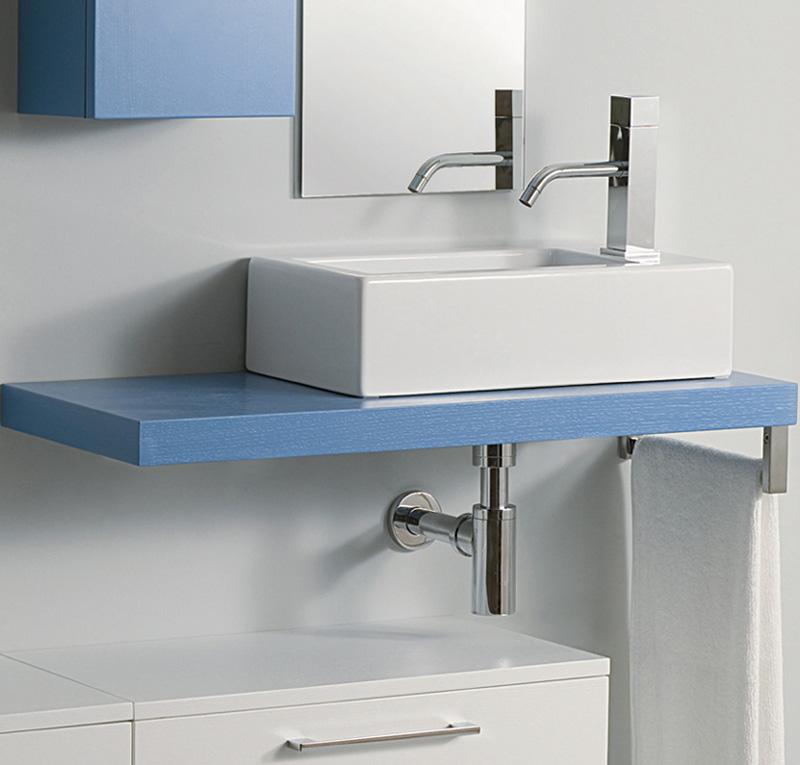 Top su misura per lavabo h5 cm slim - Top bagno su misura ...