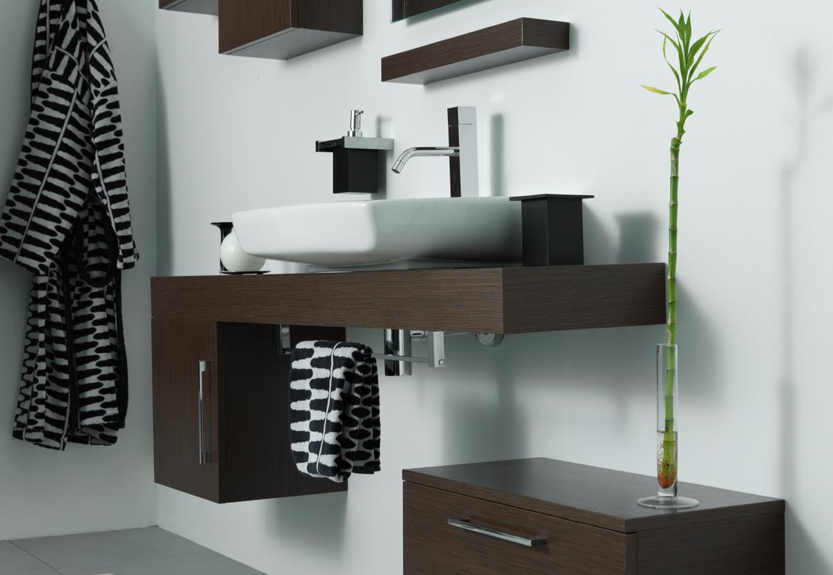 Piano per lavabo top h10 cm slim - Altezza lavabo bagno ...