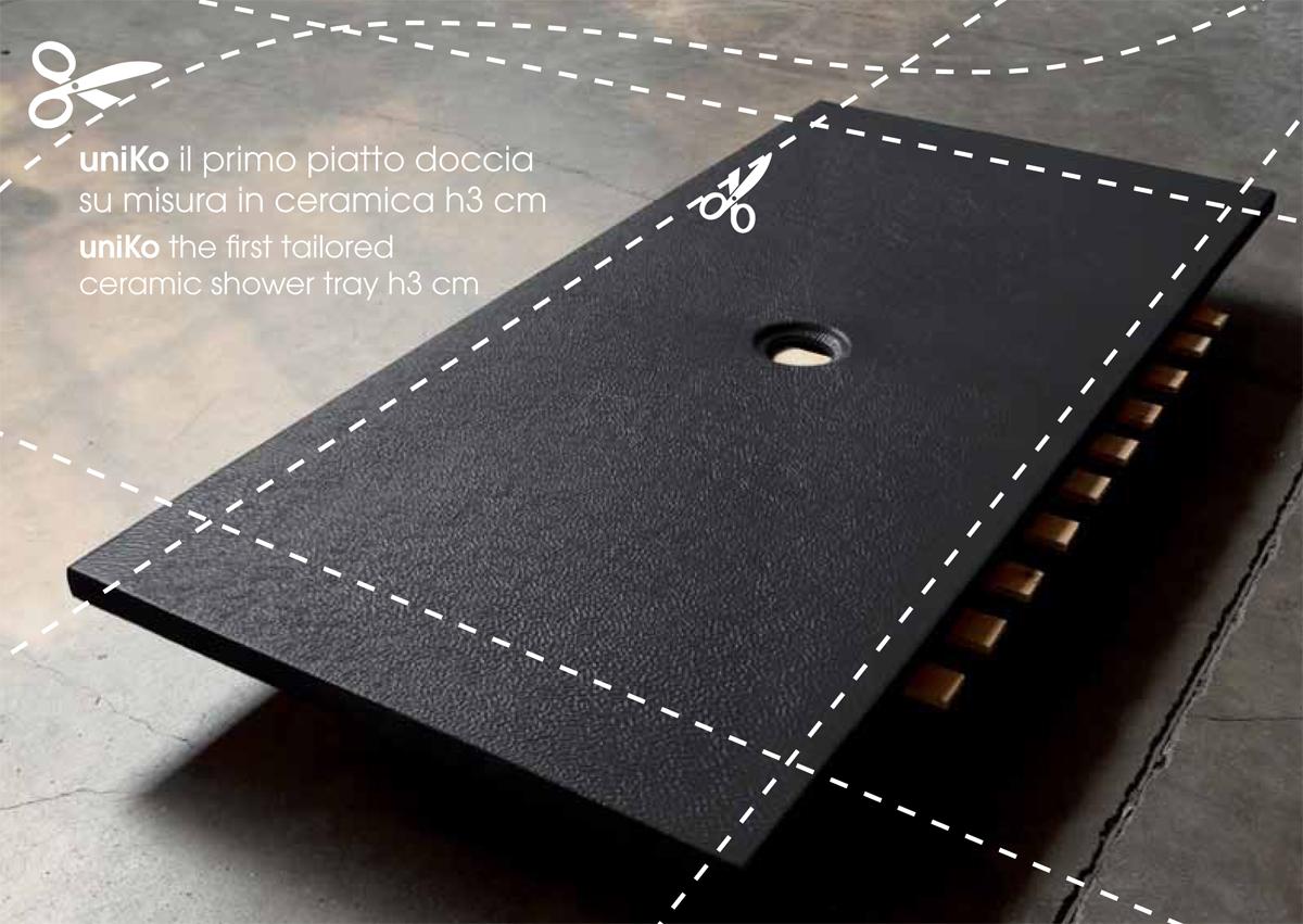 Piatto doccia 120x90 h3 cm - Piatto doccia in resina o ceramica ...