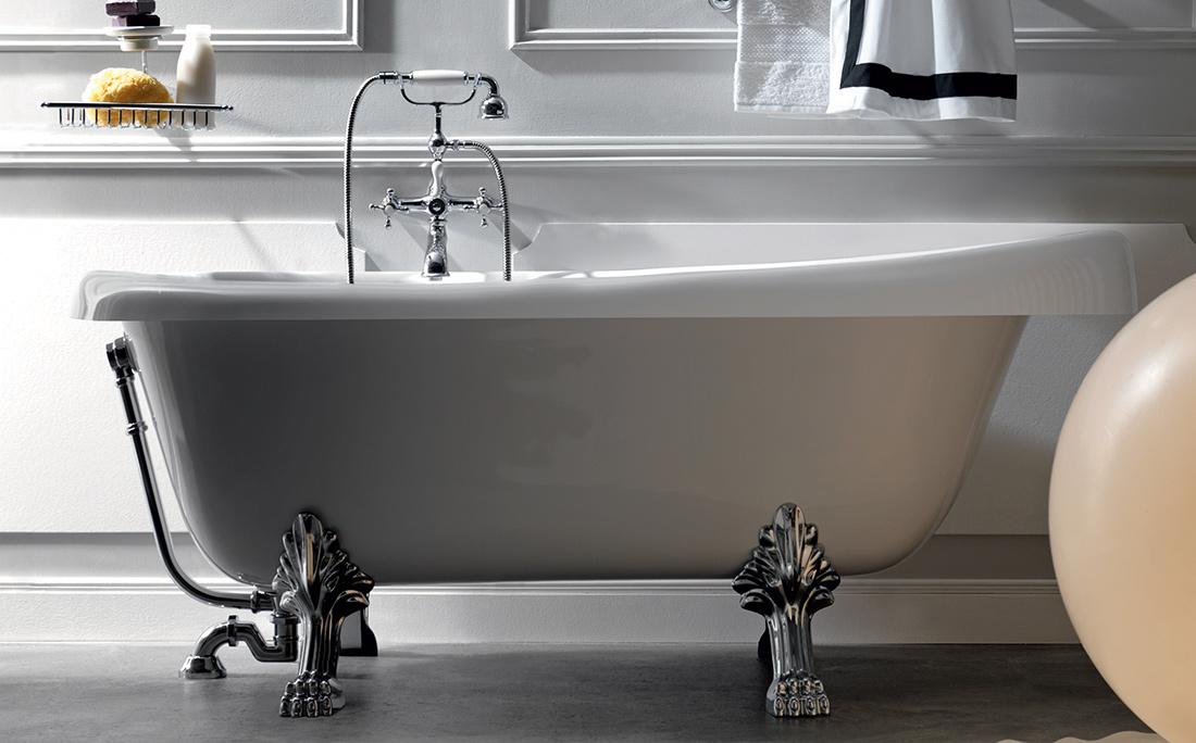 Vasca Da Bagno Kerasan : L arredo bagno dalle linee eleganti e morbide di massimiliano