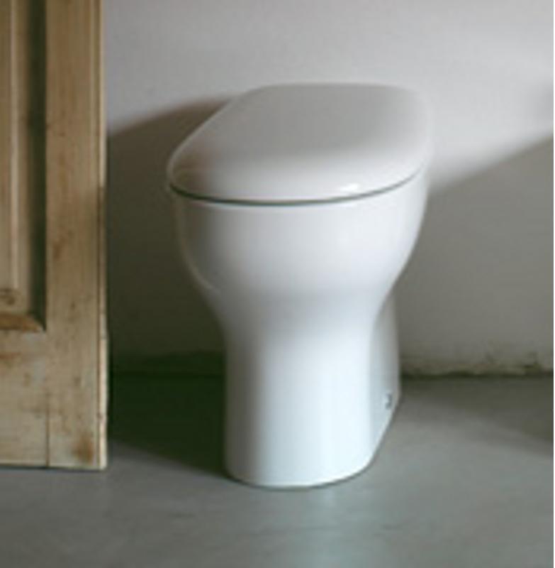 Vaso con scarico a pavimento grace 50x36 cm for Vaso scarico a parete