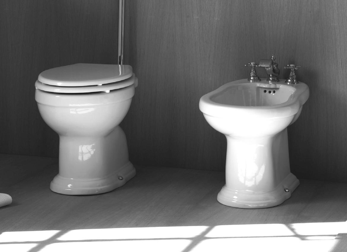 Sanitari bagno in stile antico regent - Sanitari bagno dimensioni ...