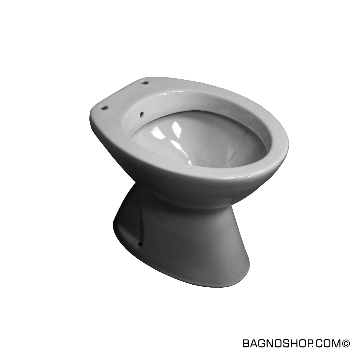 Water bidet integrato iseo for Wc bidet integrato