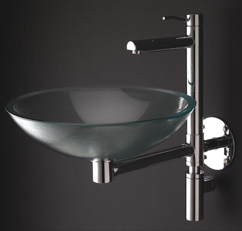 Box Doccia Cristallo Costo : Miscelatore lavabo sospeso con bacinella cristallo kusasi