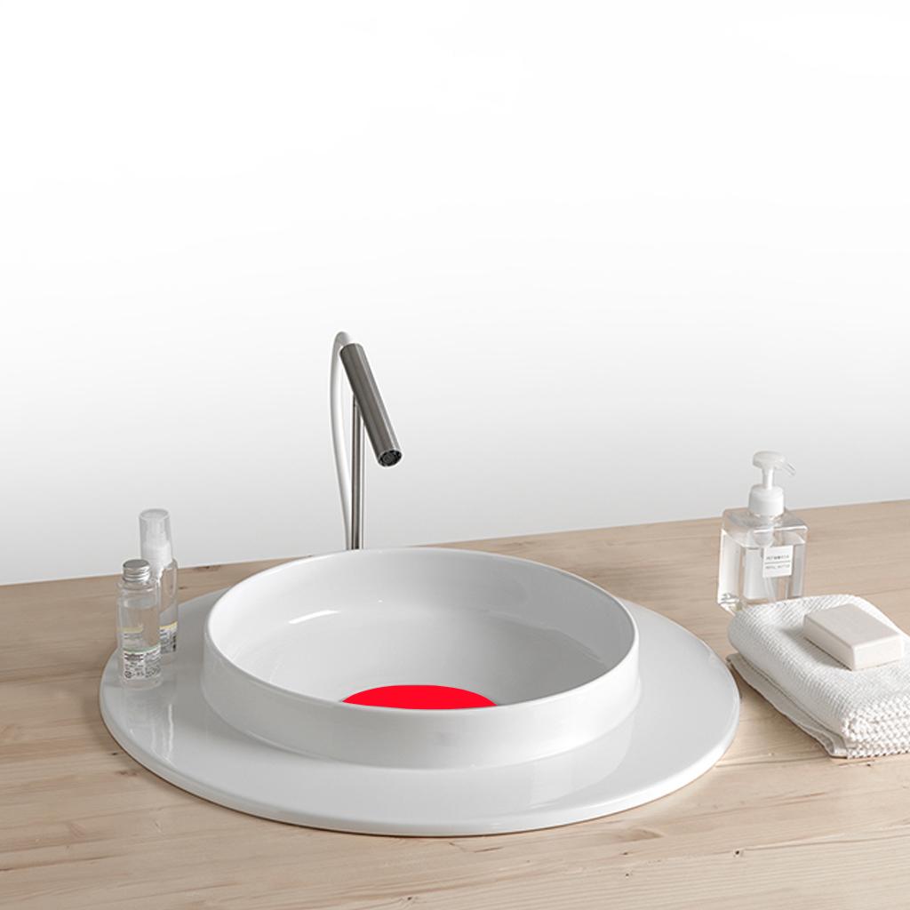 Lavabo in ceramica da incasso wide - Accessori bagno in ceramica da incasso ...