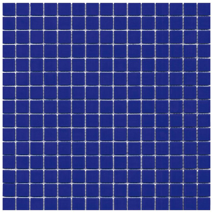 Mosaico glass velvet blu - Mosaico blu bagno ...