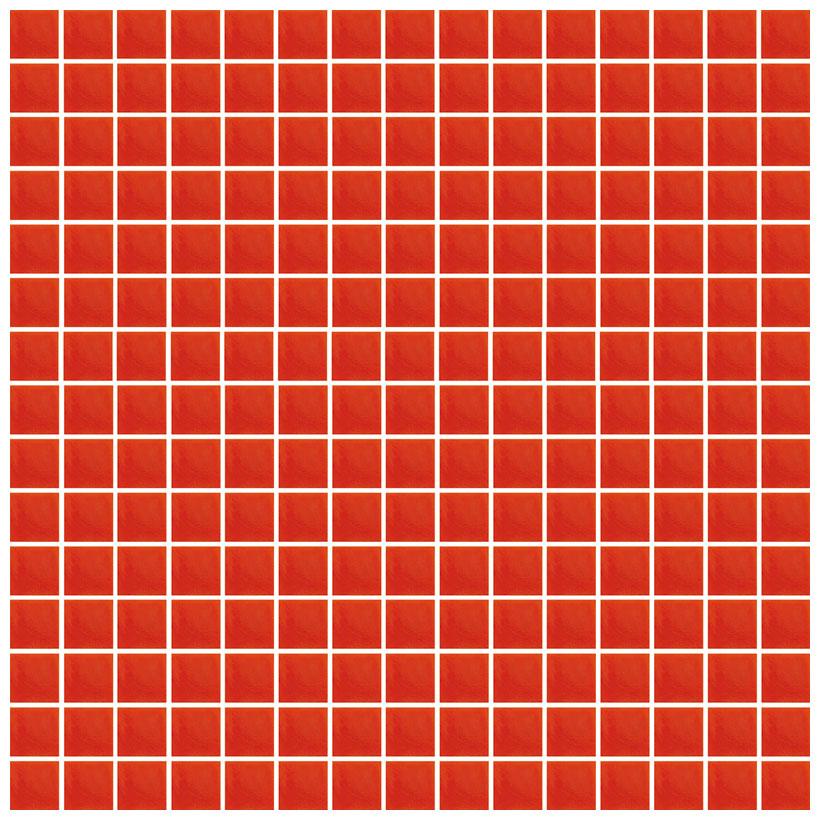 Mosaico glass velvet rosso - Bagno mosaico rosso ...