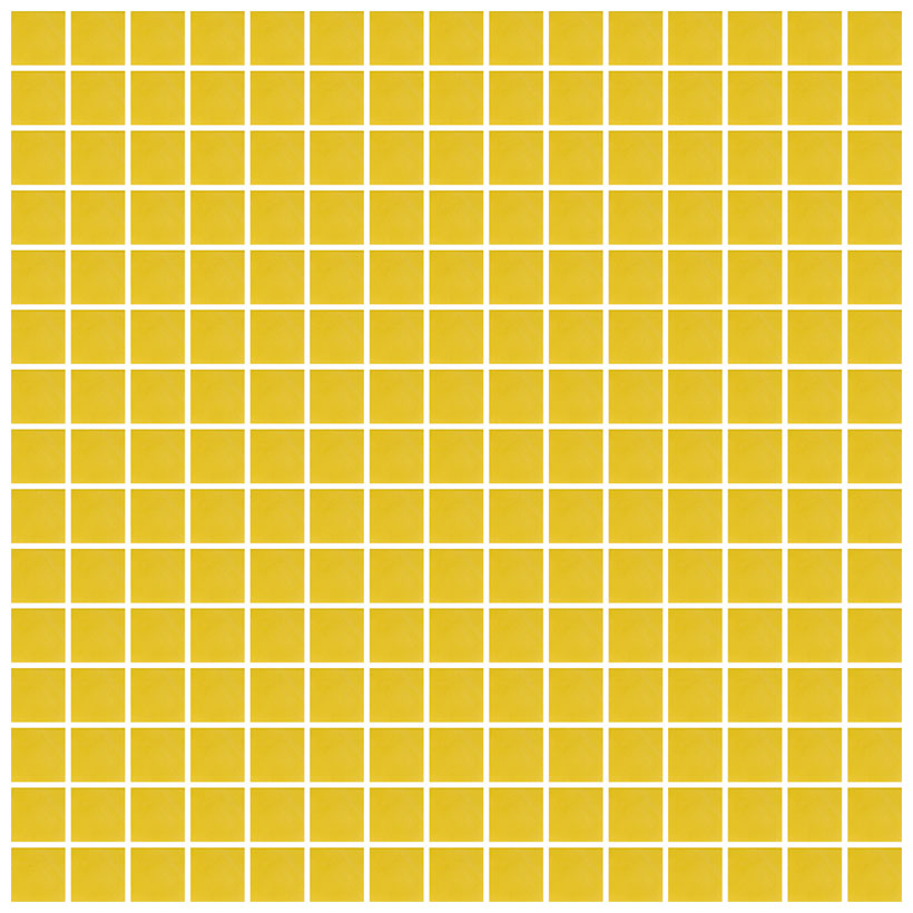 Mosaico glass velvet giallo - Fanno i bagni coloranti ...