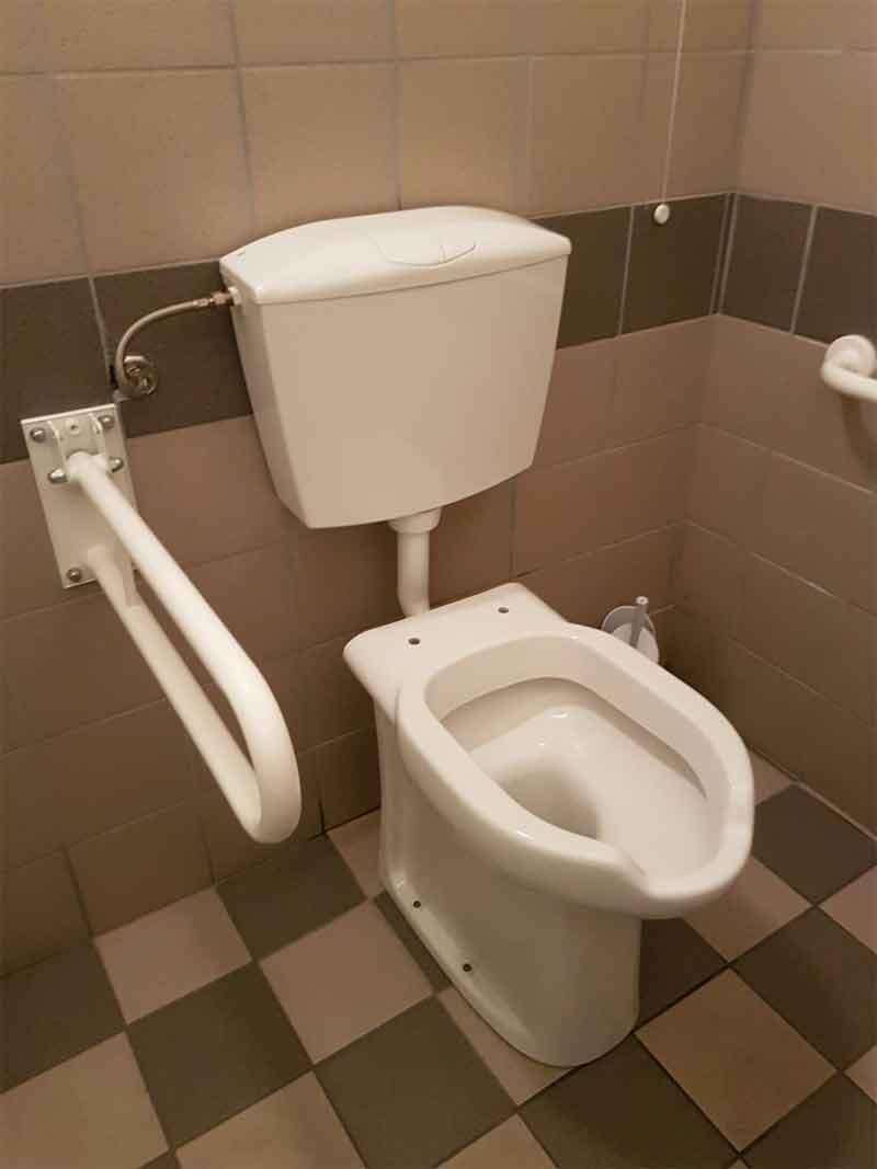 Bagno Senza Bidet Normativa come allestire un bagno per disabili