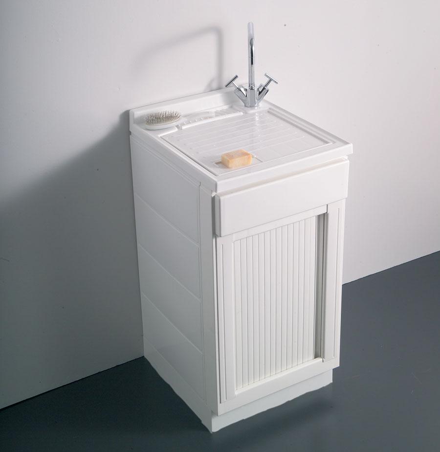 Lavatoio meteo 50x50 serrandina - Ikea mobili per lavanderia ...