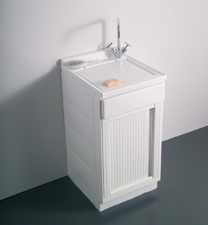 Lavatoio meteo 45x50 serrandina - Asciugatrice sopra lavatrice kit ikea ...